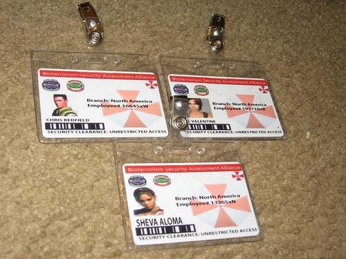 Custom Resident Eive ID(s)