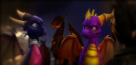 Cynder and Spyro draw closer together