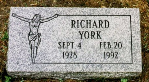 Dick York's Grave Site