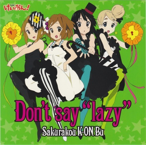 Don't say ''lazy''