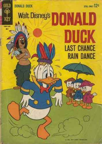 Donald pato Comic Book Last Chance Rain Dance