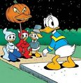Donald Duck on Halloween - donald-duck photo