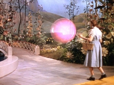 The Wizard of Oz wallpaper probably with a meteorological balloon entitled Dorothy