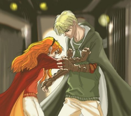 Draco and Ginny wallpaper titled Draco&Ginny
