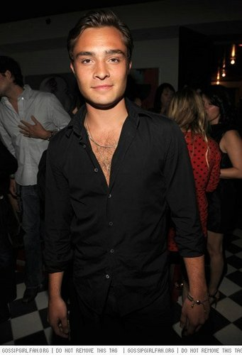 Ed at the CW Upfront Party