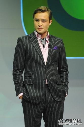 Ed at the CW Upfront Presentation