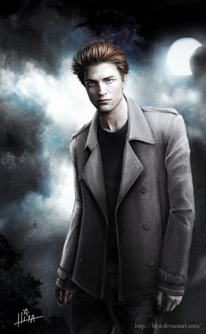 Edward Cullen fan art.