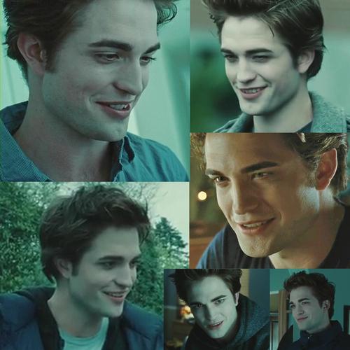 Edward smile