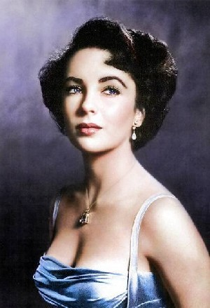 Elizabeth Taylor karatasi la kupamba ukuta containing attractiveness and a portrait entitled Elizabeth Taylor