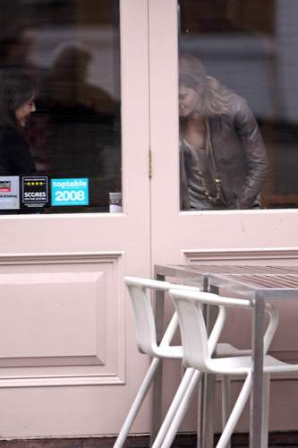 Emma Watson & Kaya Scodelario at Gourmet Burger dapur in Hampstead May 18