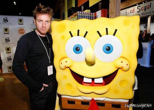 Ewan & Spongebob.