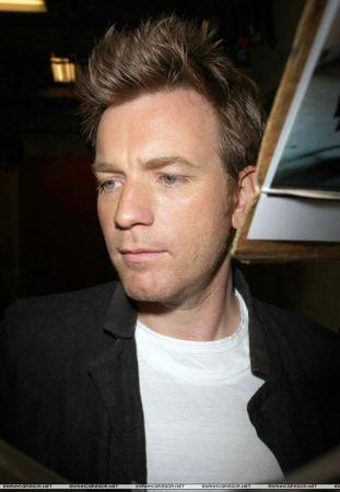 Ewan leaving ABC studios - NY, May 13th.
