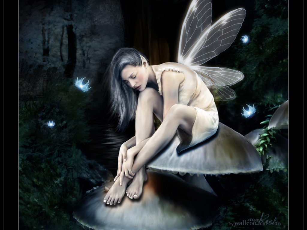 sexy gothic fairy wallpaper - photo #28
