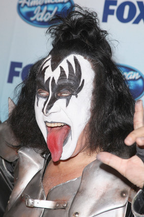 Gene Simmons of ciuman