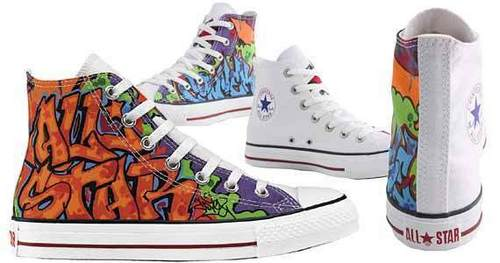 Graffiti converse's - converse Photo