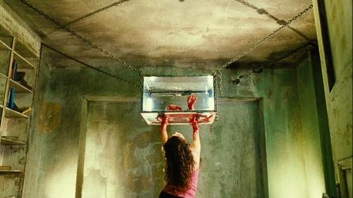 Saw Movie Traps Hand Trap in Saw 2