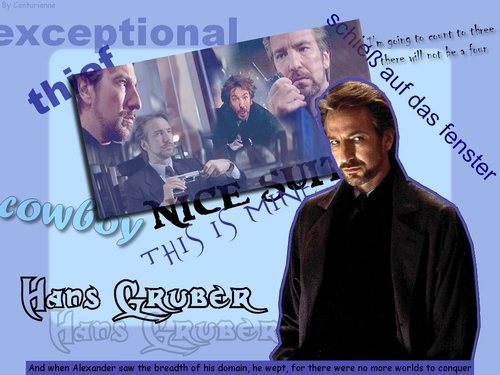 alan rickman fondo de pantalla with anime entitled Hans Gruber