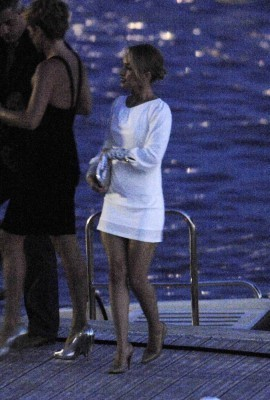 Hayden Out in Cannes