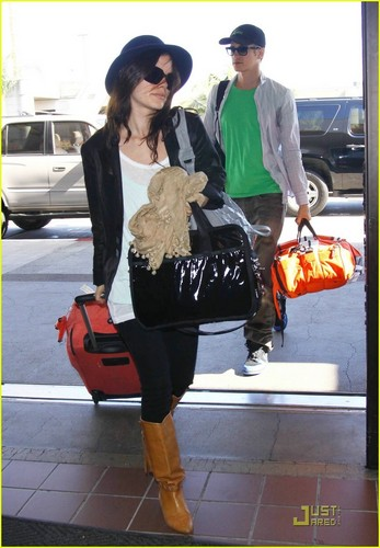 Hayden & Rachel heading to LAX