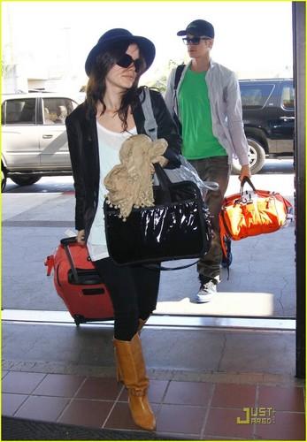 Hayden & Rachel heading to LAX