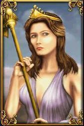 Griechische Mythologie Hintergrund titled Hera