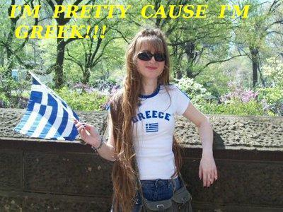 I'm pretty cause I'm greek - greek-girls Photo