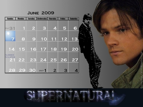 June 2009 - Supernatural's Sam