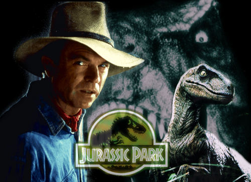Jurassic Park پیپر وال with a boater and a fedora titled Jurassic Park