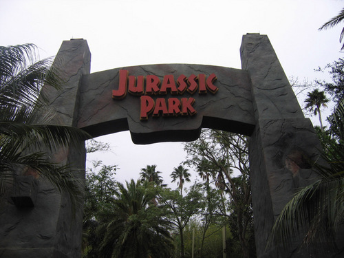 Jurassic Park achtergrond called Jurassic Park