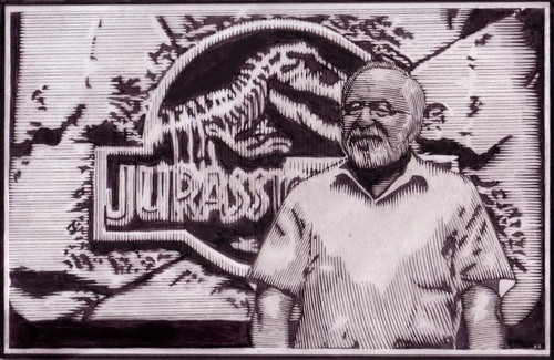 Jurassic Park kertas dinding possibly containing a sign and Anime titled Jurassic Park