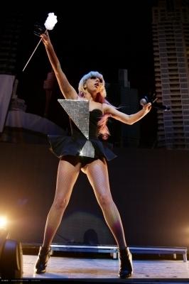 Lady GaGa Performs In Sydney