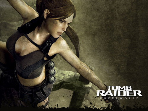 Tomb Raider wallpaper possibly with anime called Lara Croft
