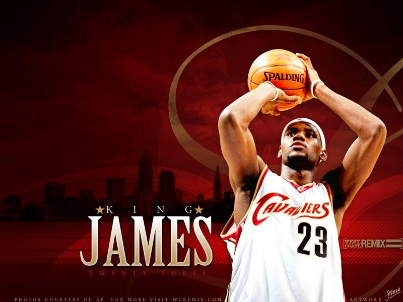 cleveland cavaliers wallpaper. Lebron James - Cleveland Cavaliers Wallpaper (6309700) - Fanpop