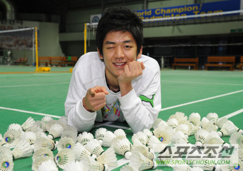 Badminton wallpaper called Lee yong Dae