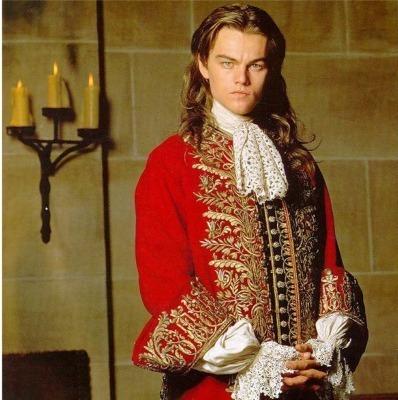 Leonardo DiCaprio as King Louis XIV