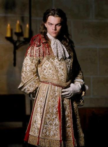 Leonardo DiCaprio as King Louis XIV