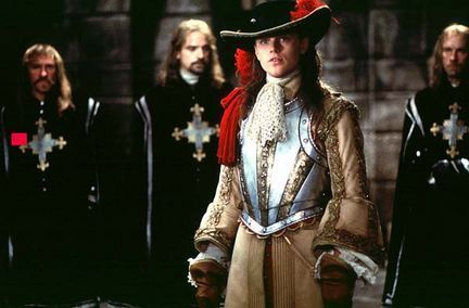 Leonardo DiCaprios as King Louis XIV