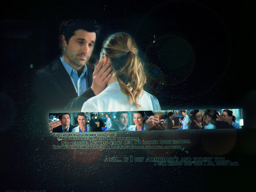 Meredith & Derek karatasi la kupamba ukuta with a business suit and a suit called MD <3