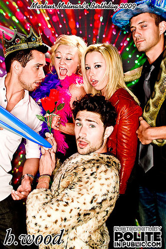 Matt Dallas wallpaper titled Matt at his friends birthday