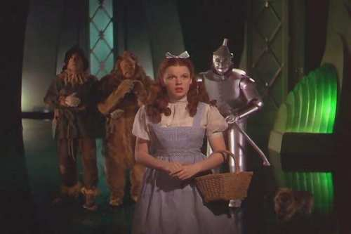 The Wizard of Oz wallpaper possibly with a tabard entitled Meeting The Wizard