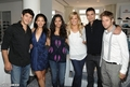 Melrose Place cast at Lia Sophia Upfront Suite