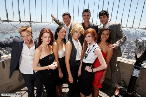 Melrose Place cast photoshoot