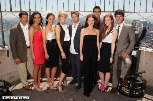 Melrose Place cast photoshoot