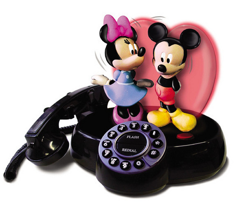 Mickey Mouse and Minnie Mouse Phone