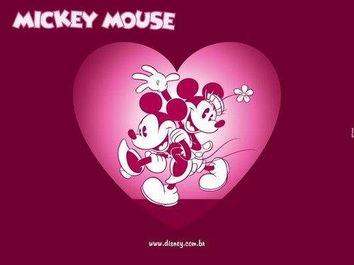 Mickey rato and Minnie rato wallpaper