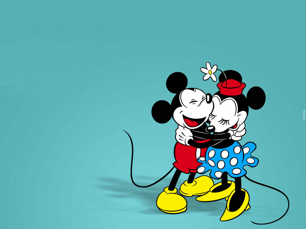 Wallpaper Mickey And Minnie