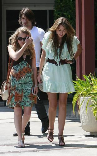 Miley at Church