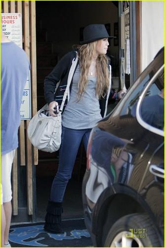 Miley in Studio City