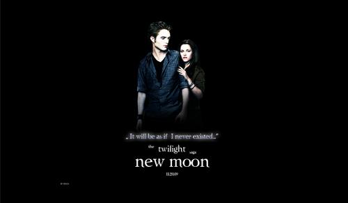 NEW MOON ll Edward & Bella ll Alternative Promo achtergrond
