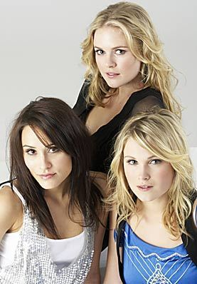 Natalie Blair, Pippa Black and Eliza Taylor-Cotter